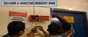 Emergency door, instalasi Emergency door, pintu darurat emergency door